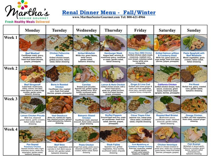 Diabetic Renal Diet Recipes  Renal Diet Limits foods rich in potassium phosphate and