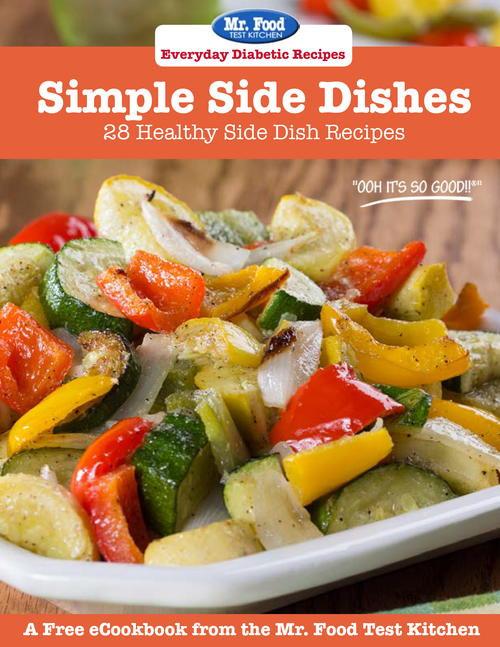 Diabetic Side Dish Recipes  Everyday Diabetic Recipes