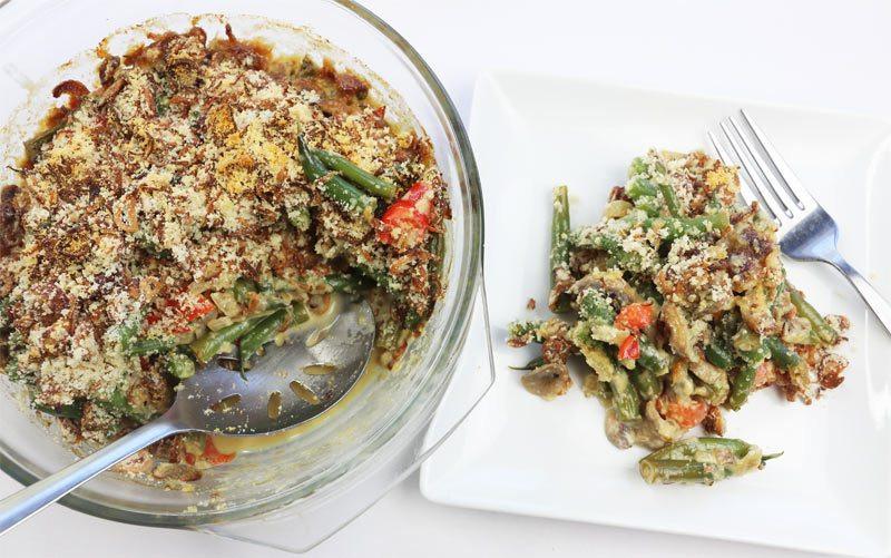 Diabetic Side Dish Recipes  Easy Diabetic Friendly Low Carb Green Bean Casserole Recipe