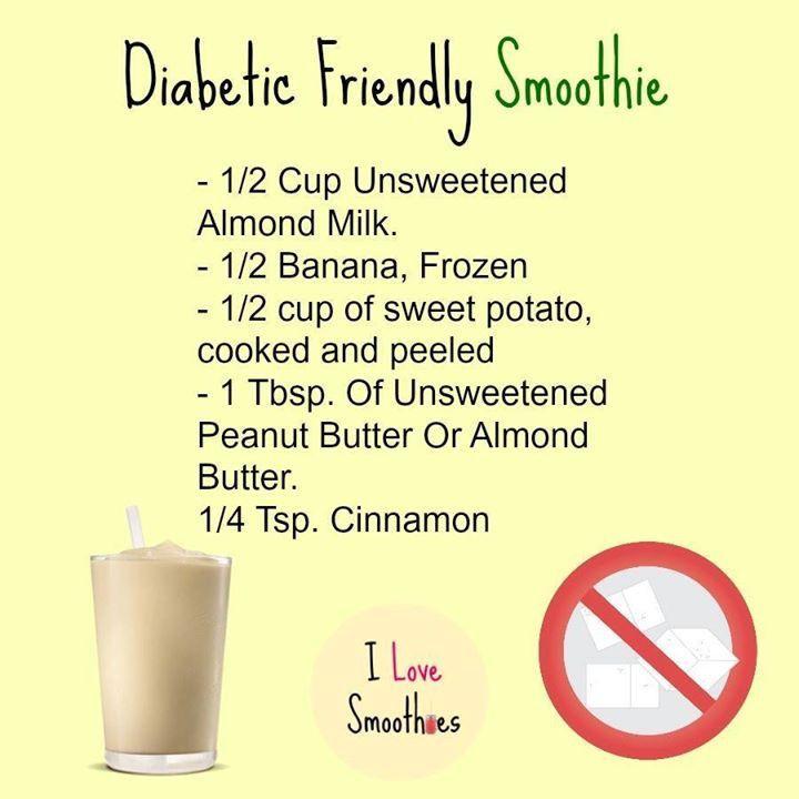 Diabetic Smoothies With Almond Milk  1000 ideas about Diabetic Smoothies on Pinterest