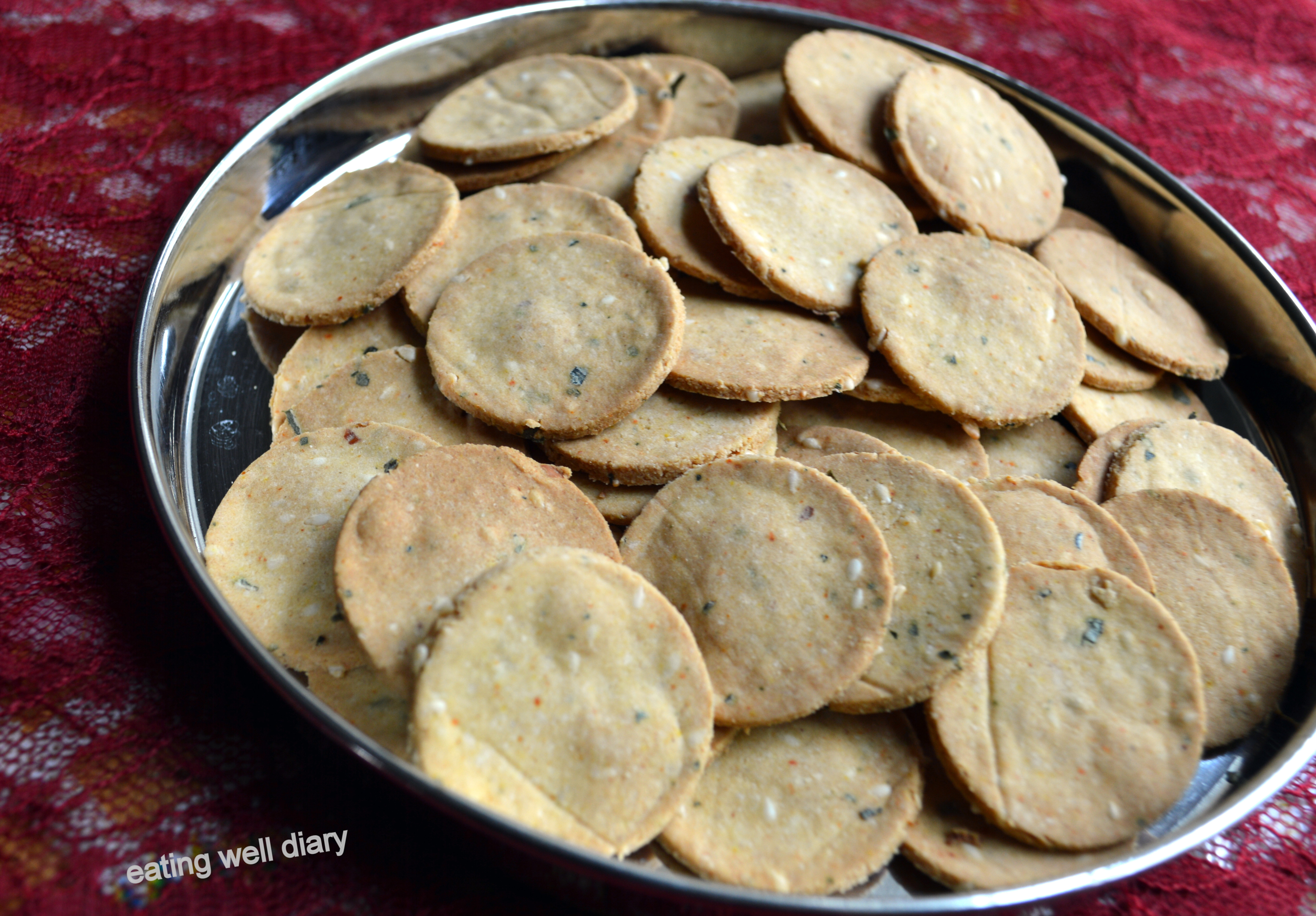 Diabetic Snack Recipes  Crunchy Thattai with a Twist A Savory Snack for Diabetes
