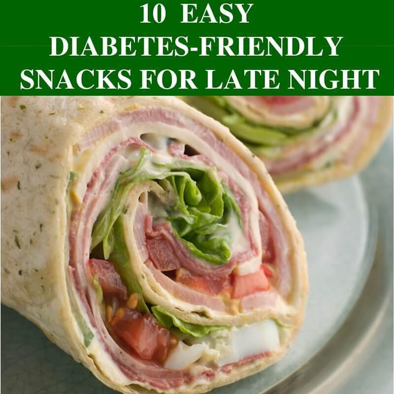 Diabetic Snack Recipes  10 Easy Late Night Diabetes Snacks