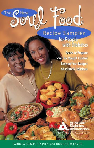 Diabetic Soul Food Recipes  A5 recipe cards with instructions pdf Food a fact of life