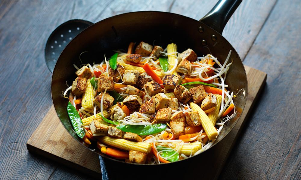 Diabetic Stir Fry Recipes  Tofu noodle stir fry