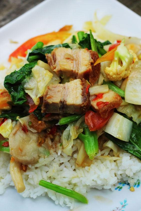 Diabetic Stir Fry Recipes  Recipe Spicy Stir Fry Pork with Asian Ve ables