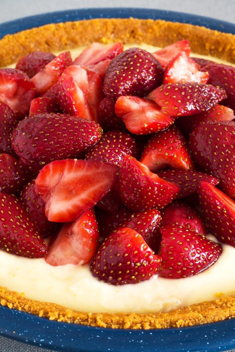 Diabetic Strawberry Desserts  No Bake Sugar Free Strawberry Cheesecake