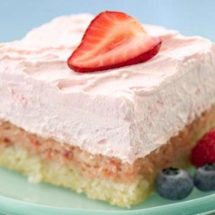 Diabetic Strawberry Desserts  Diabetic friendly easy strawberry cream squares