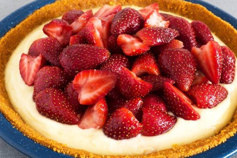 Diabetic Strawberry Desserts  Diabetic No Bake Sugar Free Strawberry Cheesecake