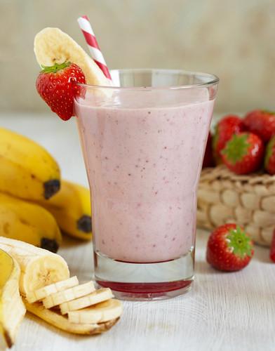 Diabetic Strawberry Smoothies  Diabetic Strawberry Banana Milkshake BigOven