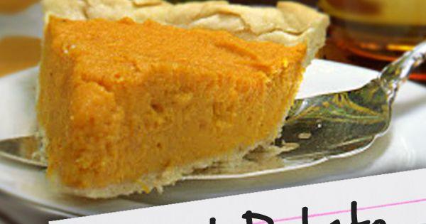Diabetic Sweet Potato Recipes  Recipes for Diabetes Sweet Potato Pie Filling