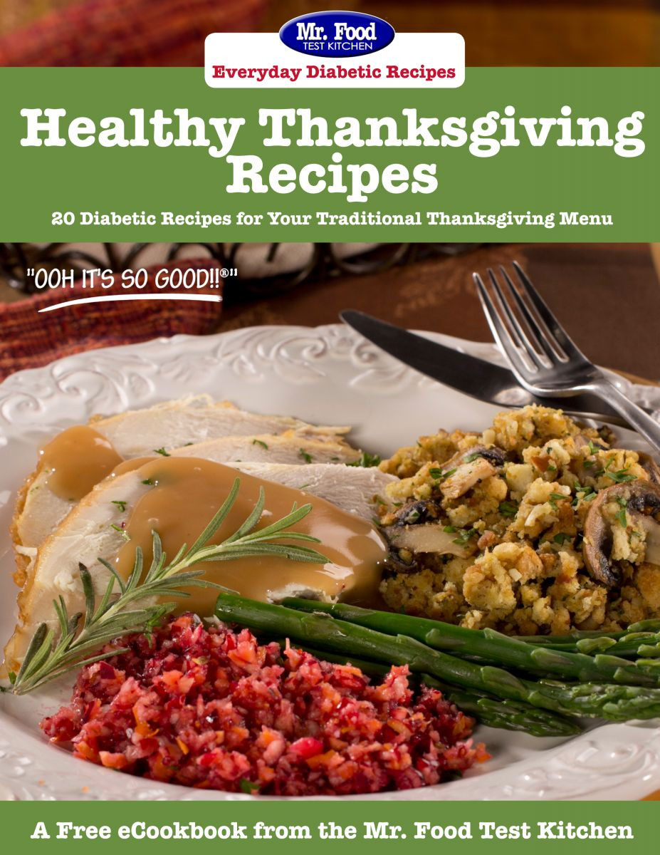 Diabetic Thanksgiving Side Dishes  Latest Free Recipe eCookbooks