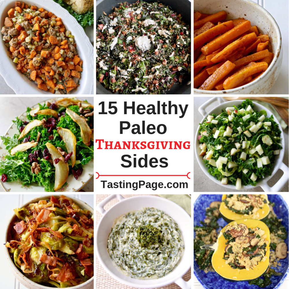 Diabetic Thanksgiving Side Dishes  Healthy Thanksgiving Side Dishes — Tasting Page