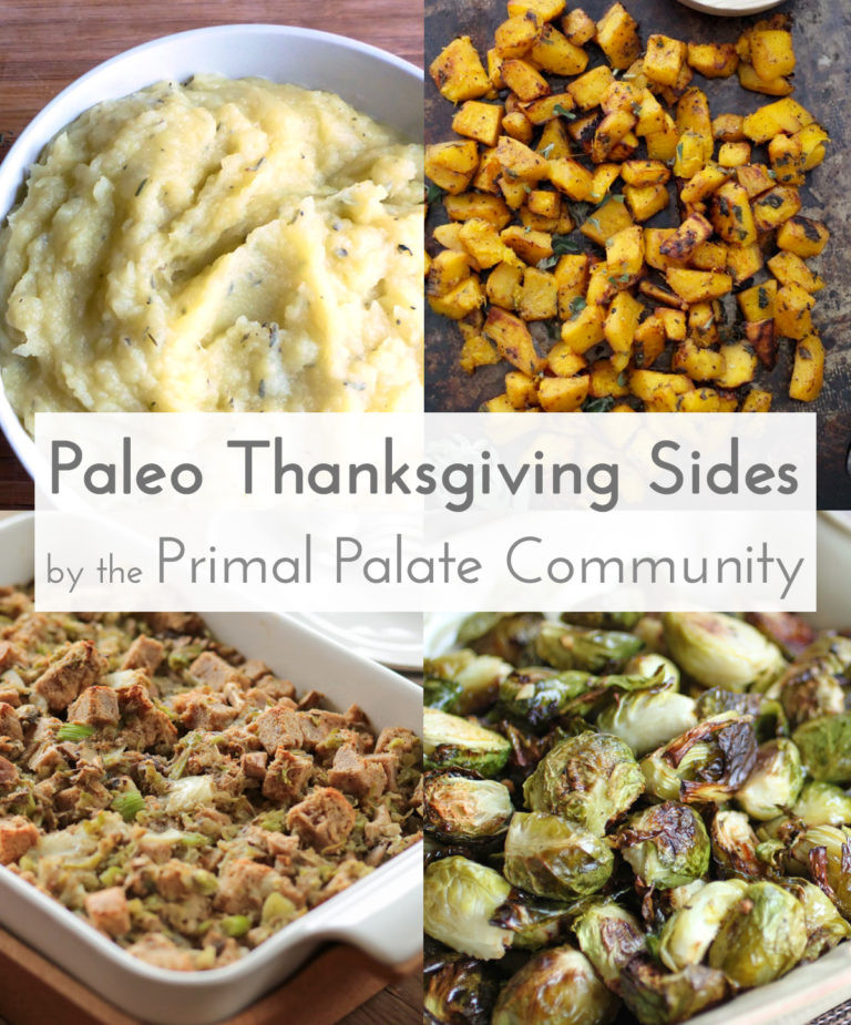 Diabetic Thanksgiving Side Dishes  Paleo Thanksgiving Side Dishes – Recipe Roundup Primal