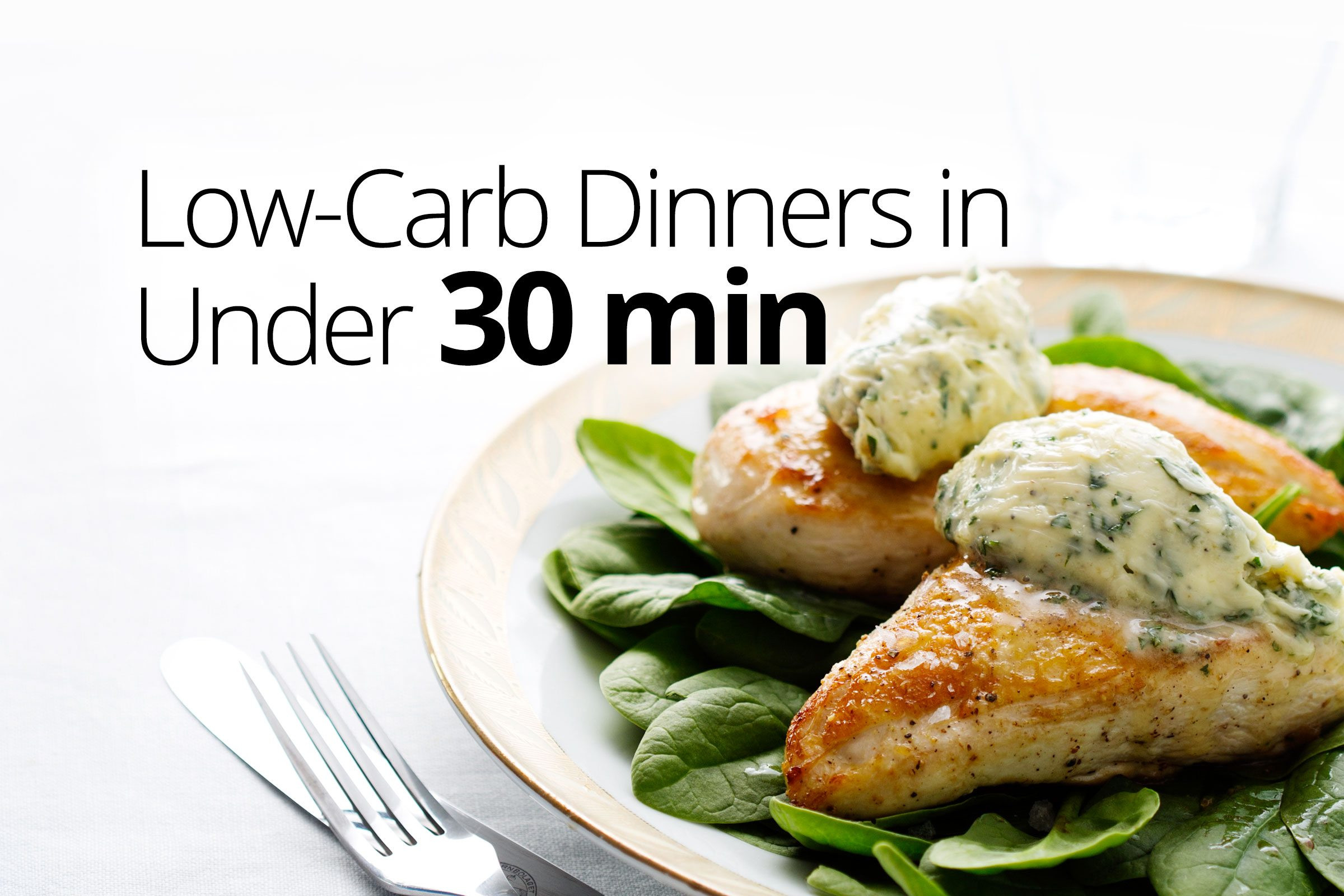 Diet Doctor Low Carb Recipes  Low carb dinners in under 30 minutes Diet Doctor