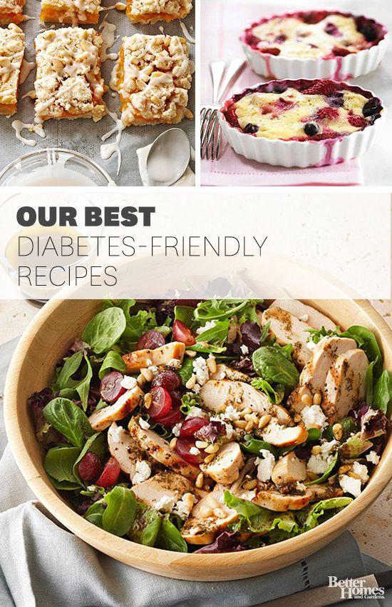 Dinner Recipe For Diabetic  Diabetic Main Courses for Summer