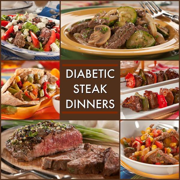 Dinner Recipe For Diabetic  8 Great Recipes For A Diabetic Steak Dinner