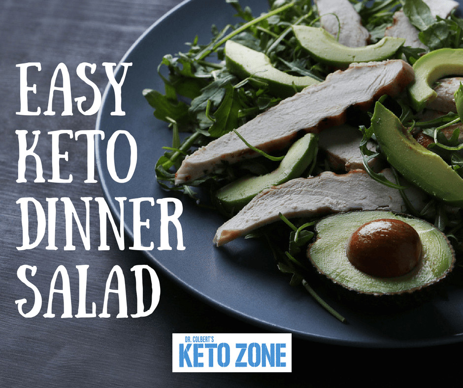 Don Colbert Keto Diet  Easy Keto Dinner Salad Keto Zone