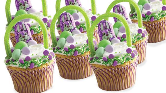 Easter Basket Cupcakes  Easter Basket Cupcakes Recipe