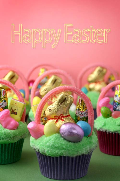 Easter Basket Cupcakes  Easter Basket Cupcakes – bakerella