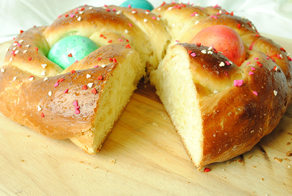 Easter Bread History  Italian Easter Bread Garlic Girl