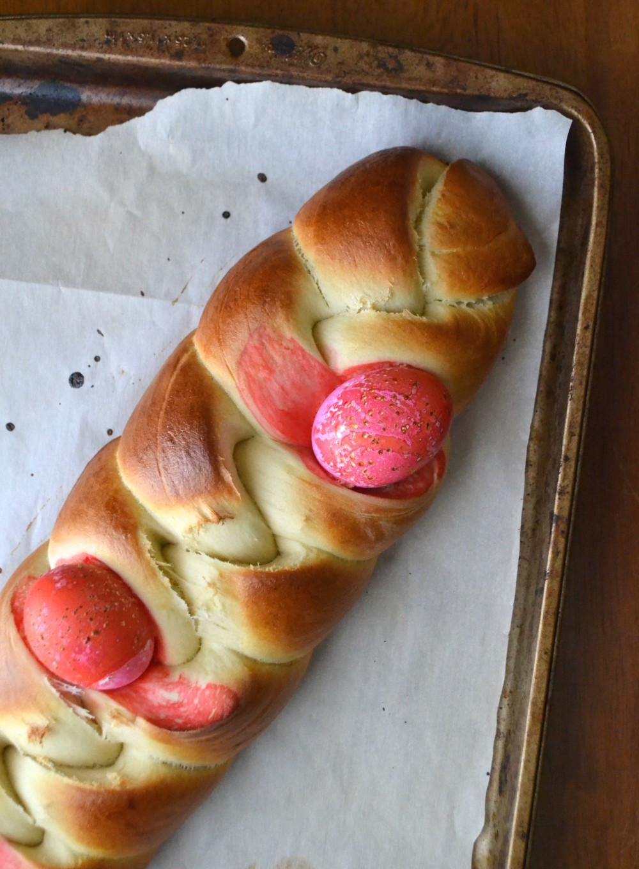 Easter Bread History  greek easter bread history