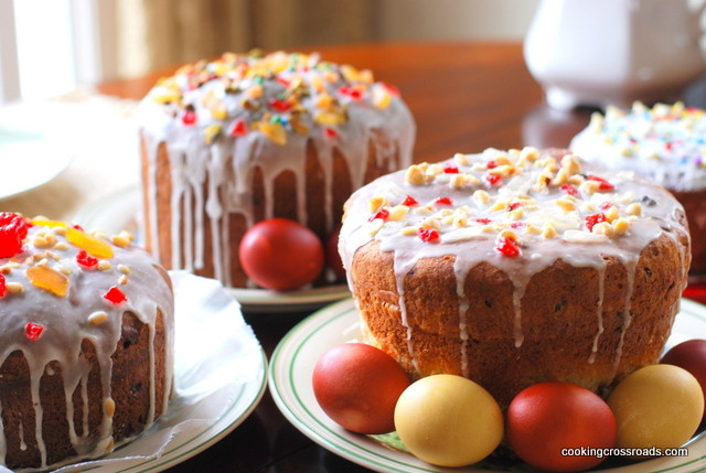 Easter Bread Russian  Russian Easter Bread Kulich – Cooking Crossroads