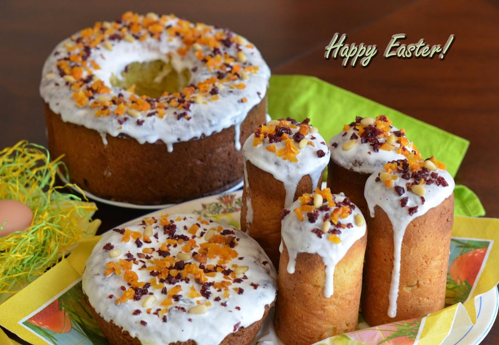 Easter Bread Russian  Kulich Orthodox Easter Bread Recipe
