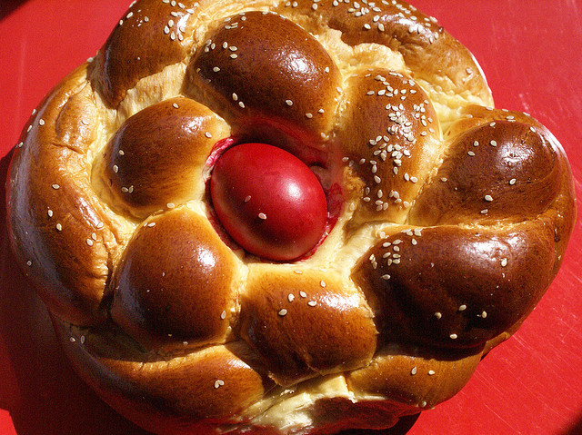 Easter Bread With Eggs  Easter Eggs Around The World Multicultural Kid Blogs
