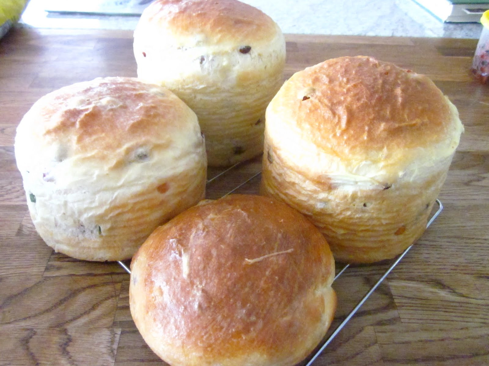 Easter Bread With Raisins  Here and There Easter Bread