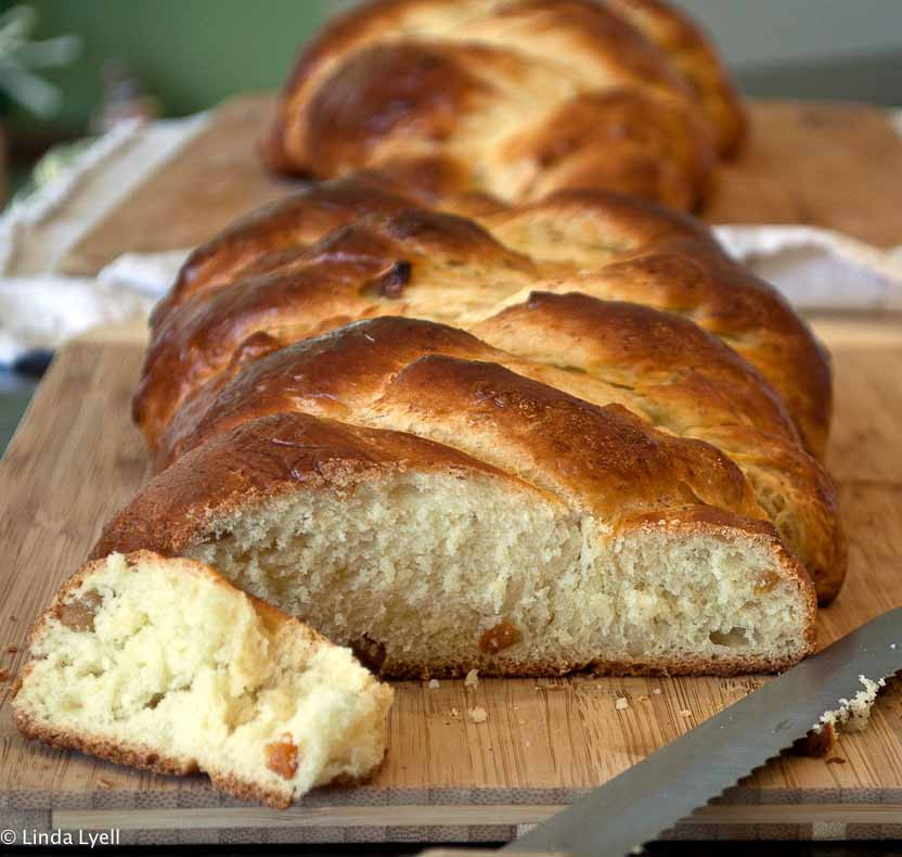 Easter Bread With Raisins  Paska Easter Bread