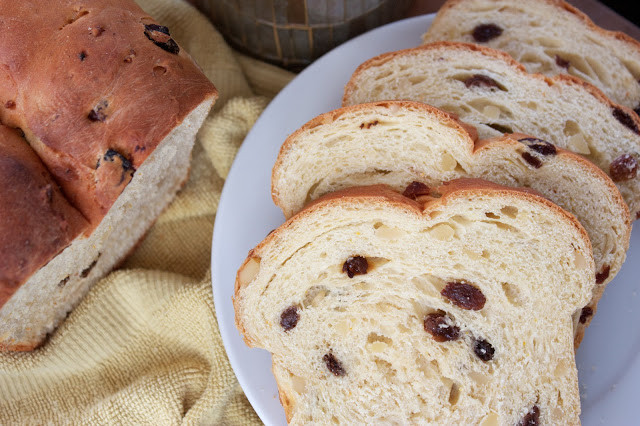 Easter Bread With Raisins  Thyme In Our Kitchen Finnish Easter Bread