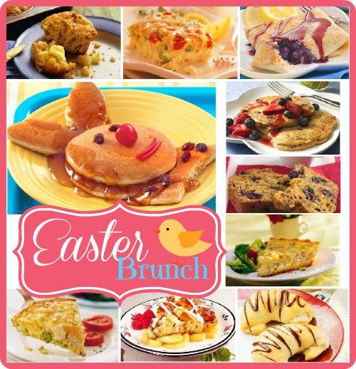 Easter Breakfast Recipes  10 Easter Brunch Recipes Easter Pinterest
