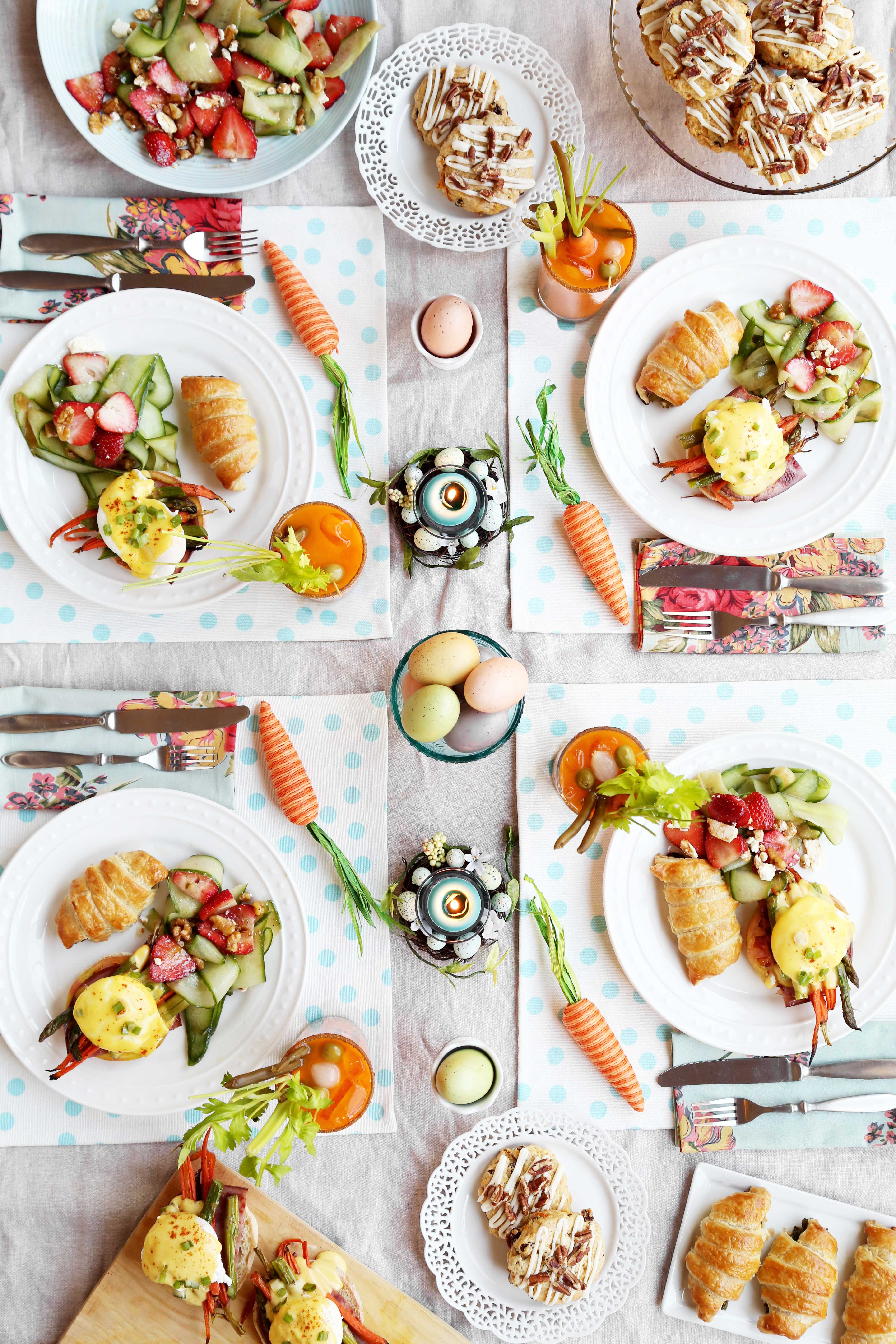Easter Breakfast Recipes  Easter Brunch The Candid Appetite