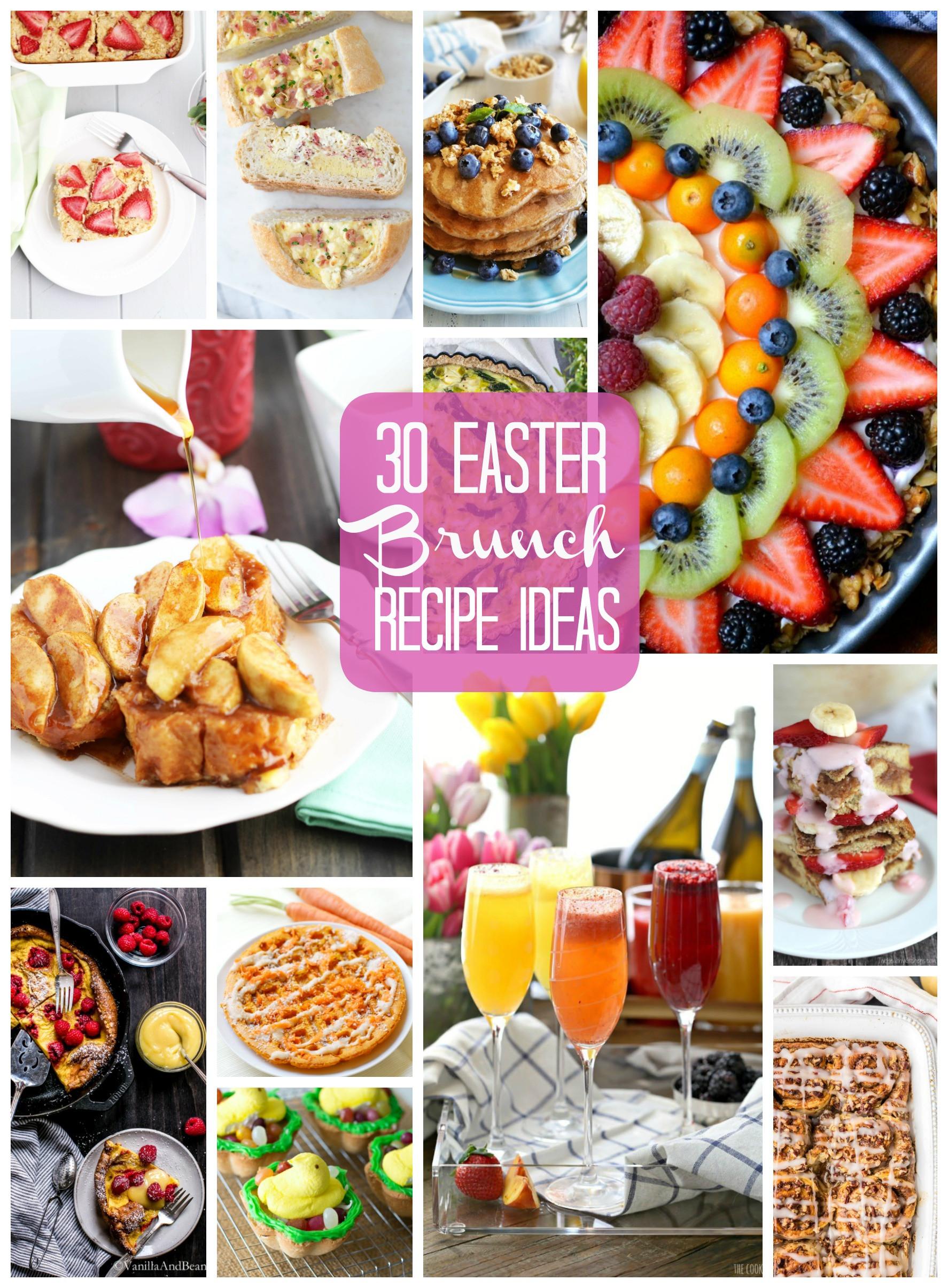 Easter Breakfast Recipes  30 Easter Brunch Recipe Ideas