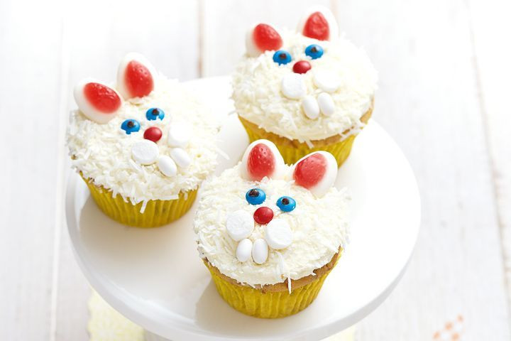 Easter Bunny Cupcakes Easter bunny cupcakes