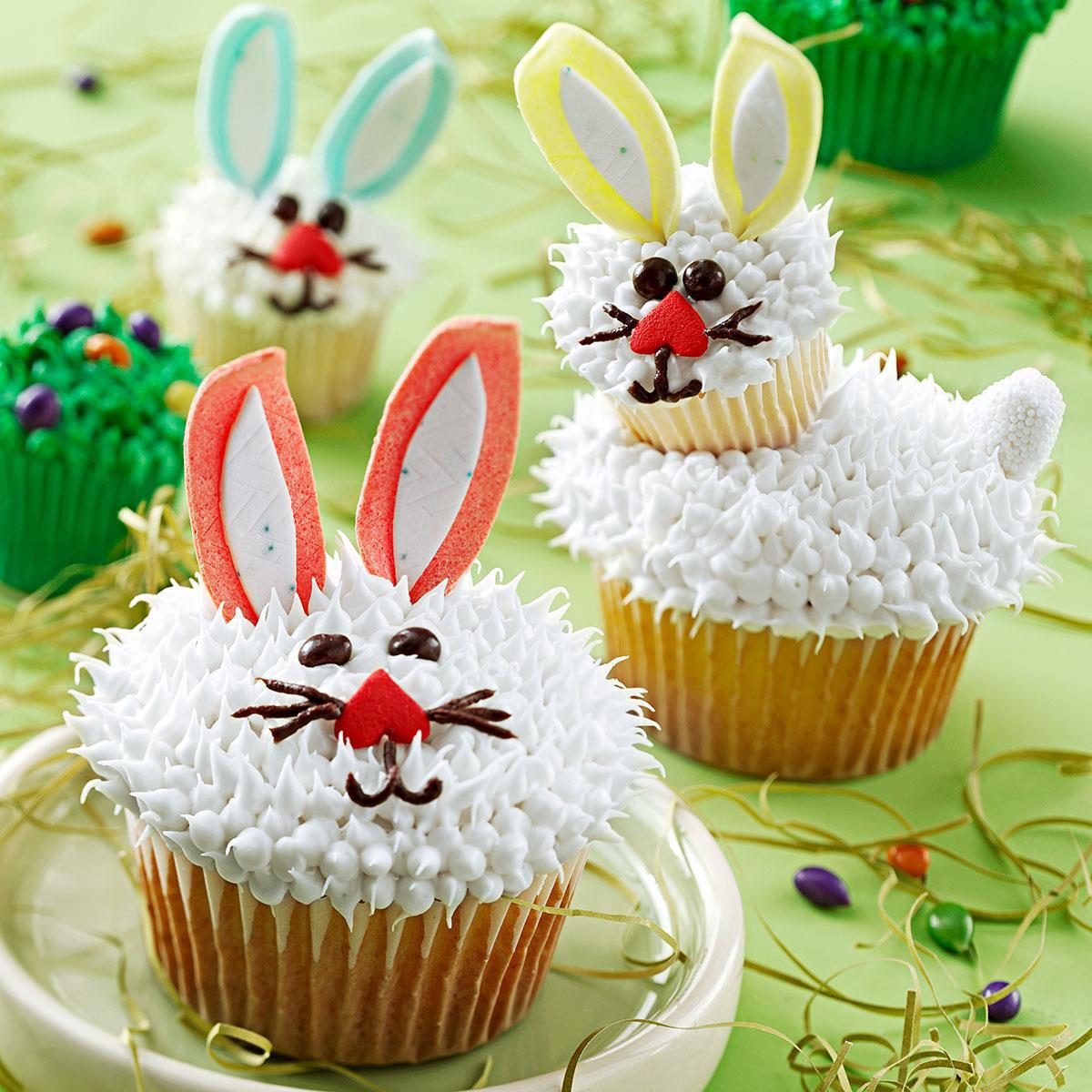 Easter Bunny Cupcakes  Easter Bunny Cupcakes Recipe