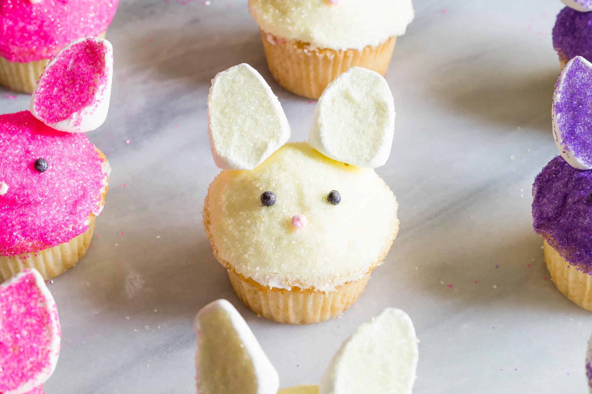 Easter Bunny Cupcakes Bunny Cupcakes