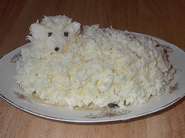 Easter Butter Lamb  Polish Easter Butter Lamb Recipe Food