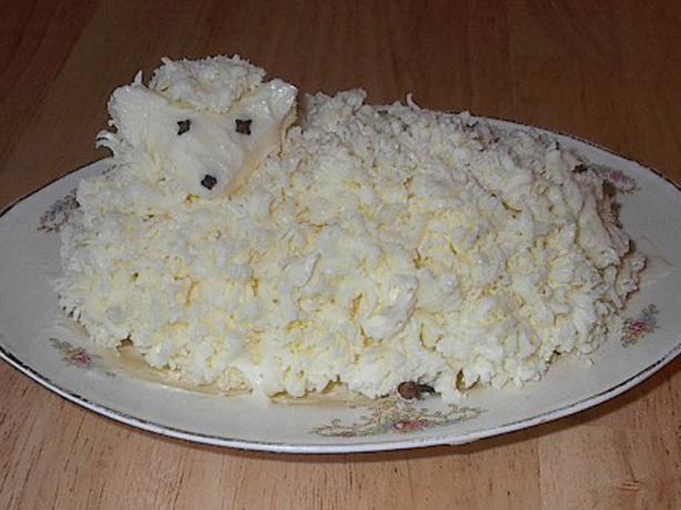 Easter Butter Lamb  Polish Easter Butter Lamb Recipe Food