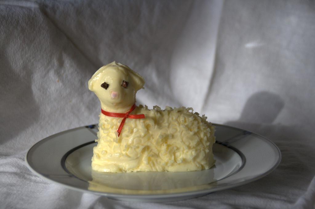 Easter Butter Lamb  LIFE AS A HUMAN – Easter Butter Lamb