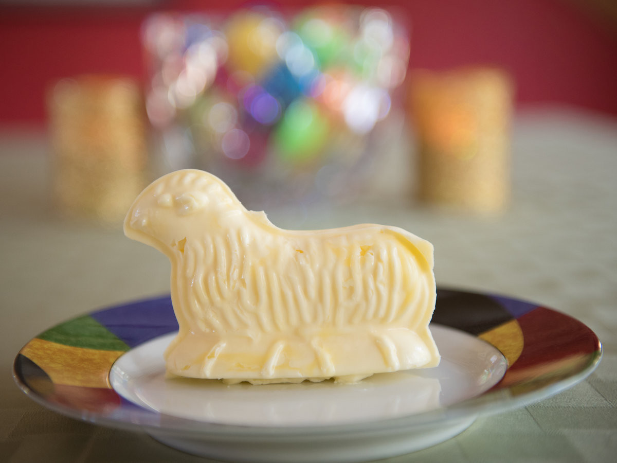 Easter Butter Lamb  What Is a Butter Lamb