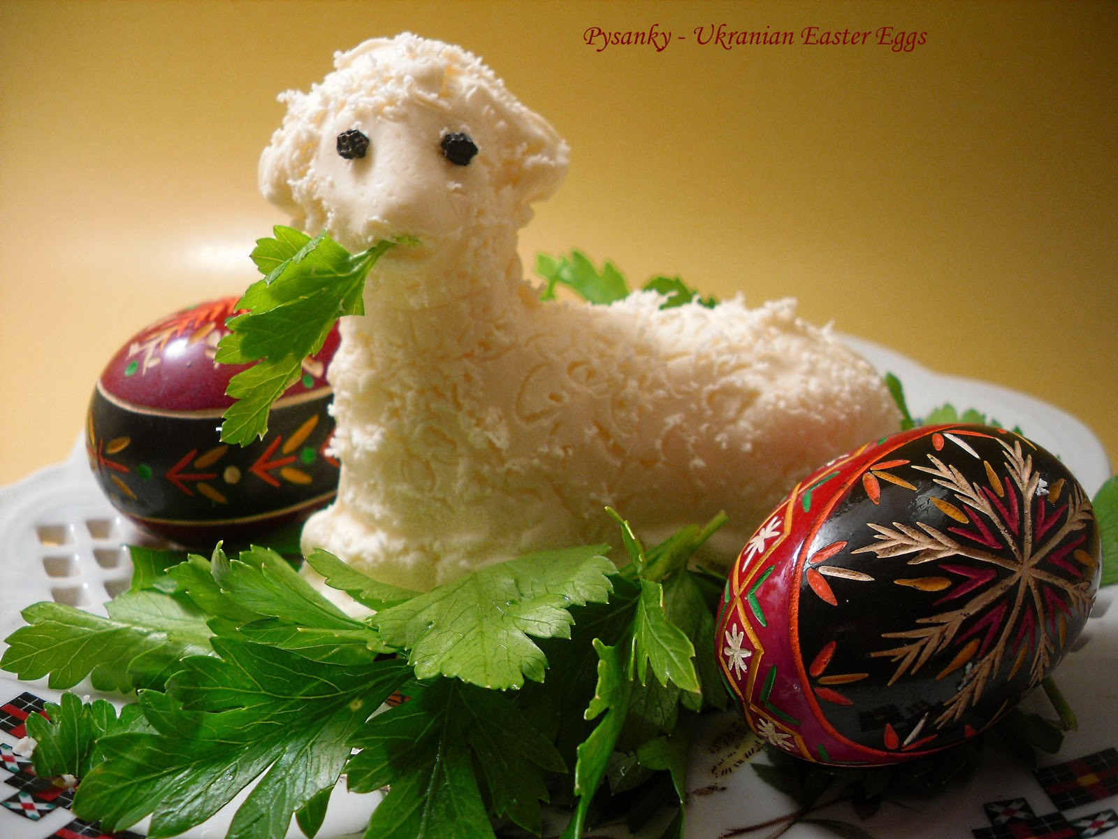 Easter Butter Lamb  fy Cuisine Home Recipes from Family & Friends Easter