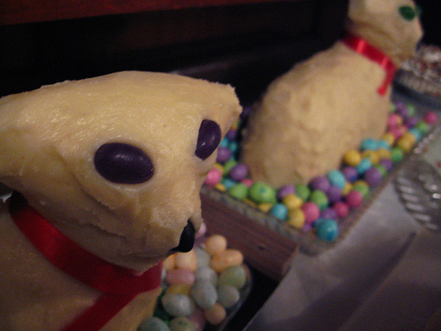 Easter Butter Lamb  Easter 2014 10 weird Easter traditions to try this bank