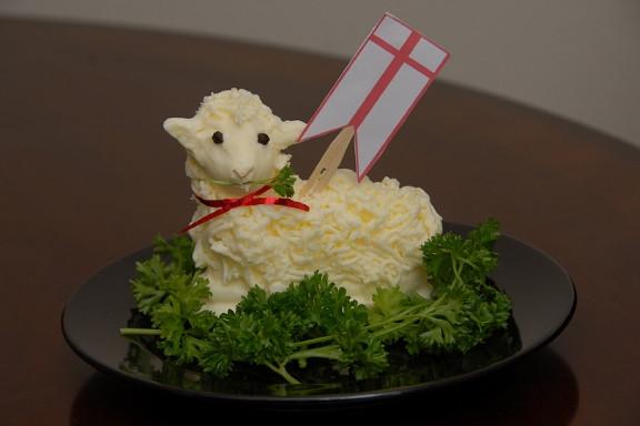 Easter Butter Lamb  Butter Lambs