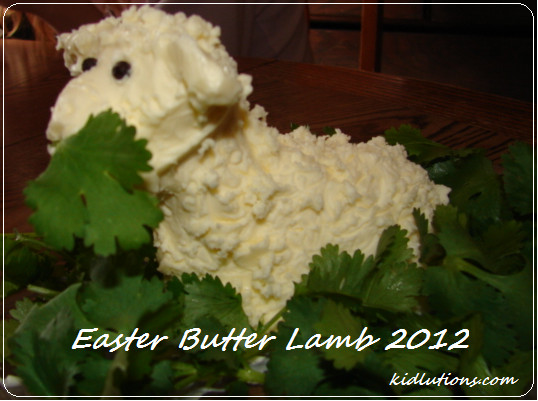 Easter Butter Lamb  Happy Easter Butter Lamb A Polish Tradition