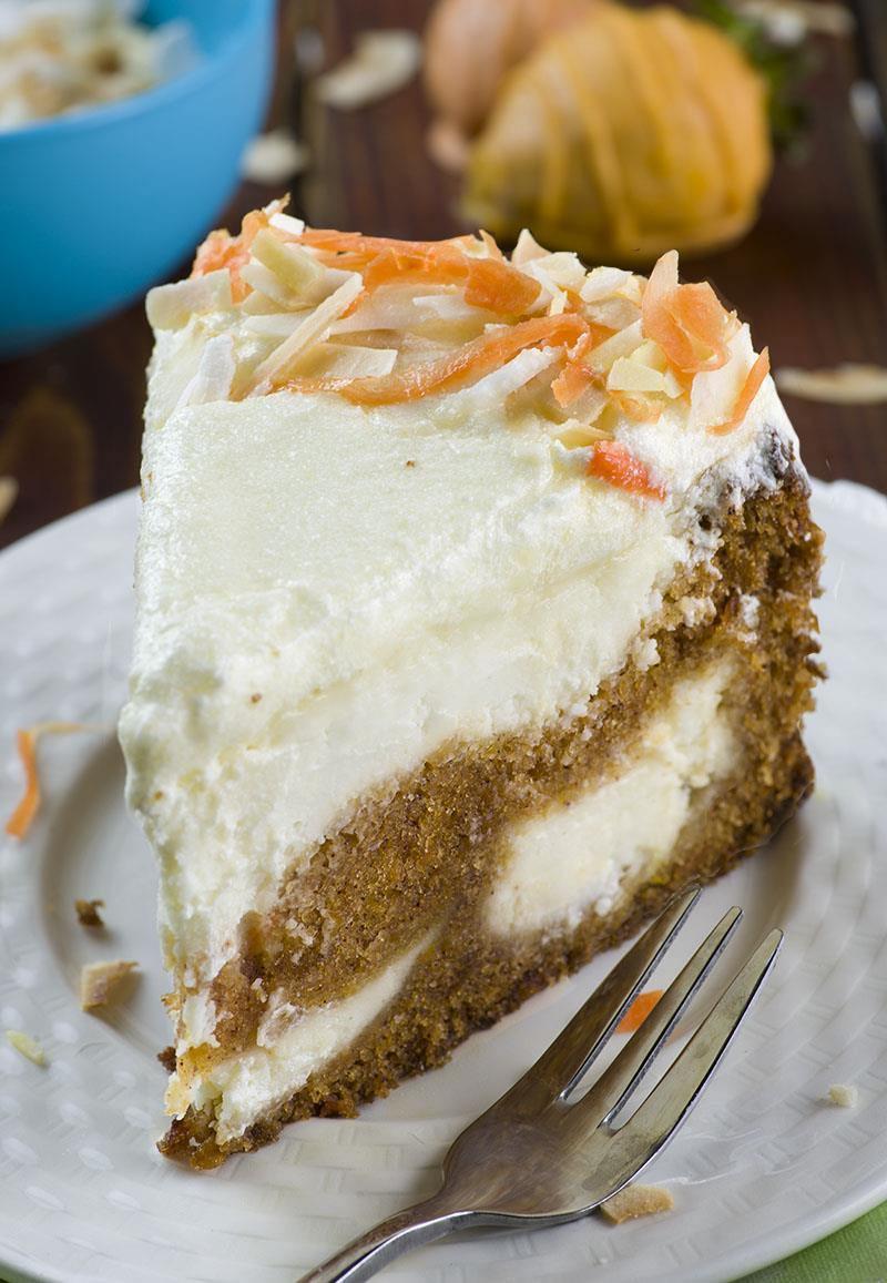 Easter Cake Easter Desserts  Carrot Cake Cheesecake Easter version