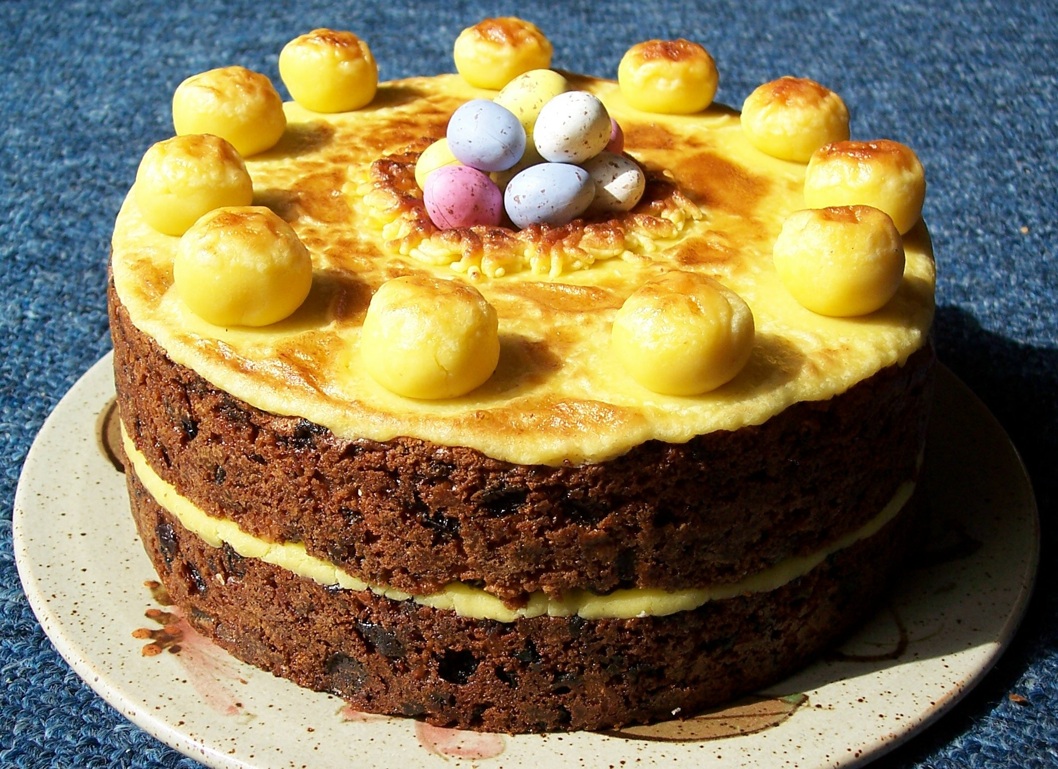 Easter Cake Recipe  Traditional Simnel Cake for Easter