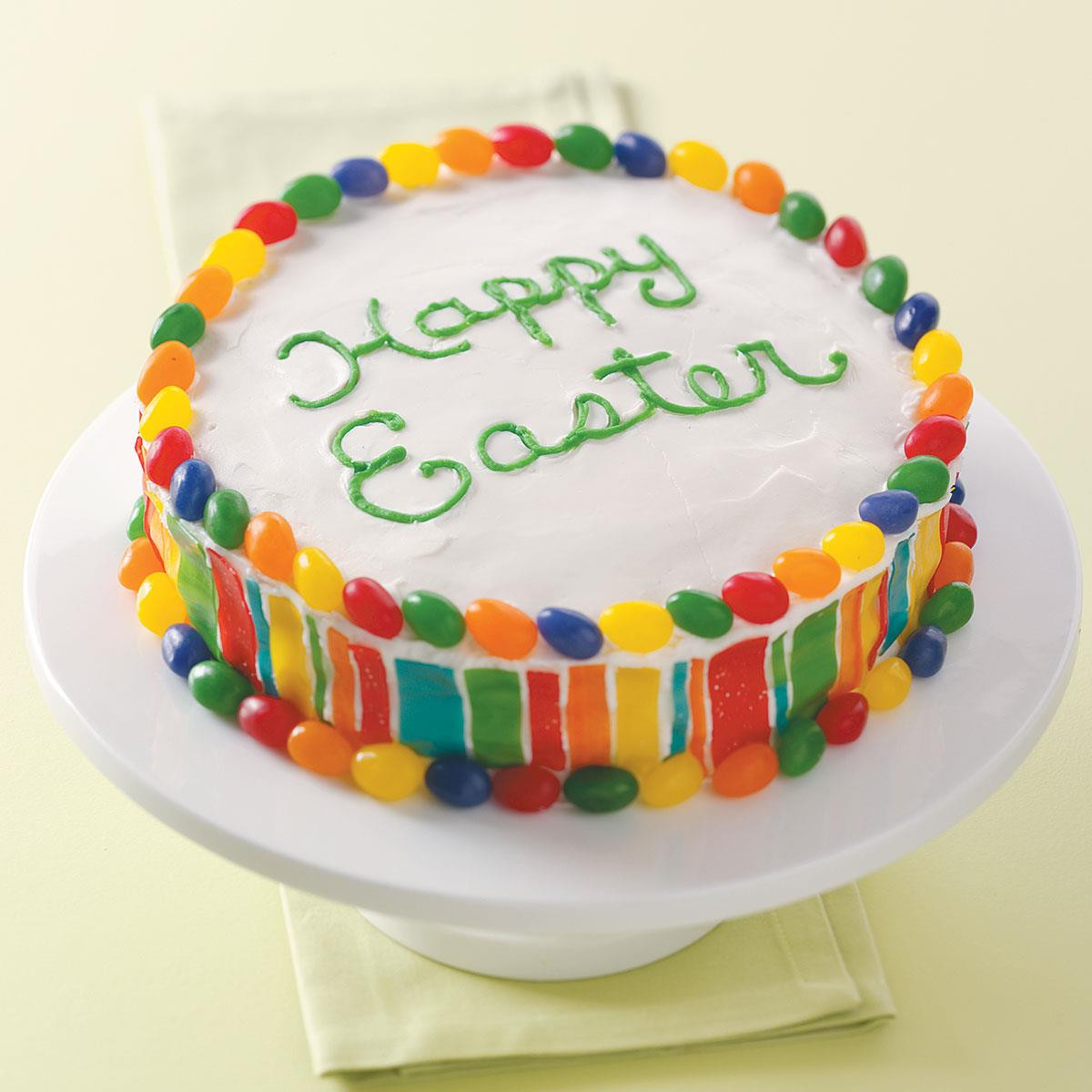 Easter Cake Recipe  Colorful Easter Cake Recipe