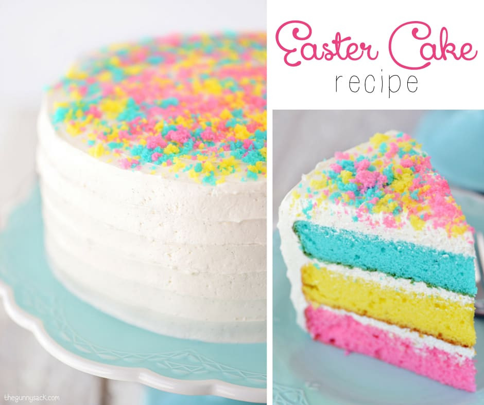 Easter Cake Recipe  Easter Cake Recipe The Gunny Sack