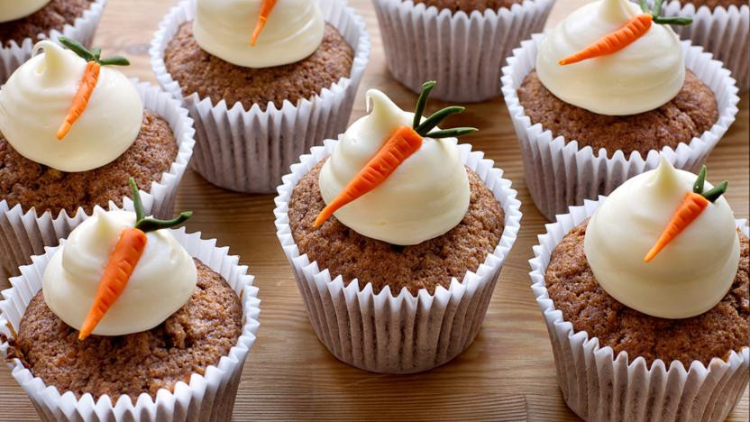 Easter Carrot Cake Cupcakes  Carrot cake cupcakes recipe BBC Food